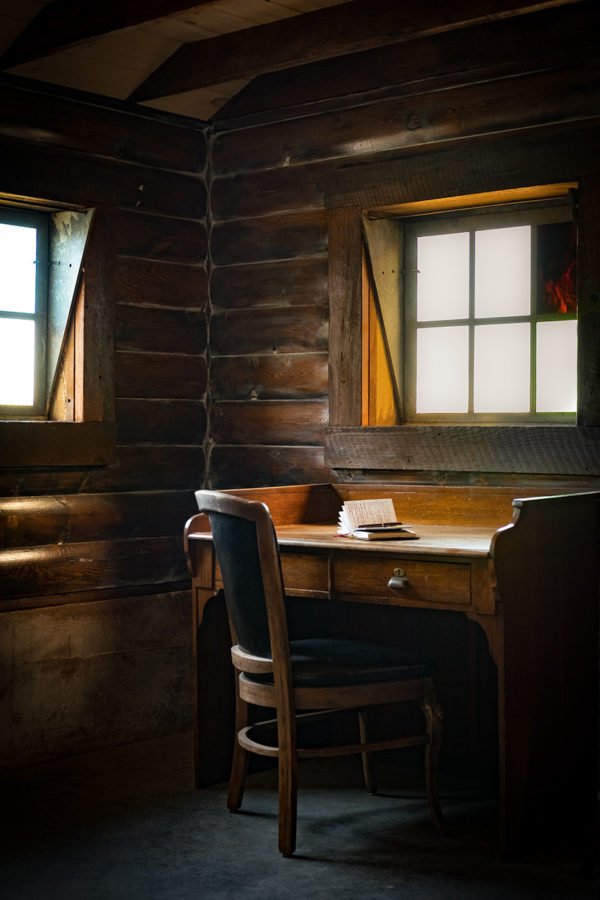 Photograph of the Writing Room at Storybook Barn
